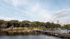 P1640449 (Rambalac) Tags: asia japan lumixgh4 bridge construction pond water азия япония вода мост пруд сооружение