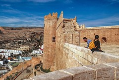 Fear of Heights (CosmoClick) Tags: almeria vertigo height alcazaba fortification view fear cosmoclick cosmoclicky spain andalusia wow