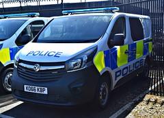 KO66KBP (Cobalt271) Tags: ko66kbp new northumbria police vauxhall vivaro 16 cdti biturbo van proud to protect