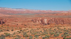 Horseshoe Bend (2 of 6): people at the viewpoint in early morning... 20170405_8000 (listorama) Tags: usa arizona horseshoebend people