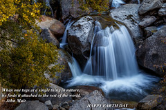 HAPPY EARTH DAY 2017 , Enjoy while it lasts (rkpunnamraju) Tags: explore travel outdoor trees rocks landscape water nps nationalpark yosemite cascade falls