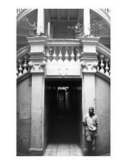 head-on (alessio gianfranceschi) Tags: monocrome monochrome black white bw people city street architecture portrait travel culture ecuador composition children 35mm ilford analogic analogico pellicola