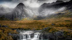 Ghostly fairy pools Isle of Skye (Andrew Thomas 73) Tags: scotland fairy pools isle skye nikond810 mountains water