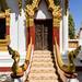 Wat Luang carved door
