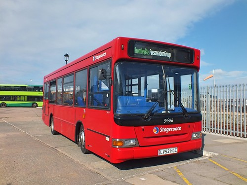 Bromley Bus Preservation group - Stagecoach London - 34366 - LV52HGC