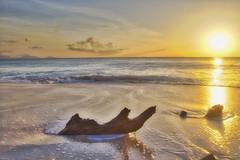 Sunset on Ffreyes Beach (ronmcmanus1) Tags: antigua beach hdr landscape sunsetsunrise waterwaterfront jollyharbour stmarysparish antiguabarbuda caribbean