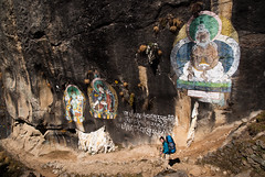 Graffiti (Michal Pawelczyk) Tags: 2016 nikon nepal d80 october asia honeymoon nationalpark mountains outdoor painting streetart trekking outside travel roofoftheworld himalaje sagarmathanationalpark gory himalaya pazdziernik azja everestregion kwestiaszlaku ksnowe ksnepalgaleria blog