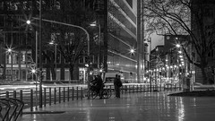 Night Lights (Frankfurt) (chrisar676) Tags: ampel bahnhofsviertel canon canonef24105f4lisusm canoneos5dmarkiii deutschland eos europa europe frankfurt frankfurtmain frankfurtammain germany hesse hessen langzeitbelichtung licht lichter nacht nachtfotografie bw blackandwhite blackwhite light lights longtimeexposure night nightphotography sw schwarzweis timeexposure