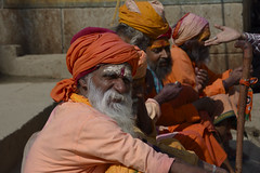 india__51 (BooBoopdx) Tags: nikon d7100 afs dx 1685mm 3556 india travel color photography people faces monks portrait sadhus varanasi street