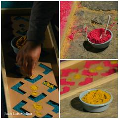 Collage Alfombra 1 (juanluismolina1) Tags: antiguaguatemala guatemala carpet alfombra hoiday holyweek
