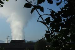 IMG_1027_1 (Pablo Alvarez Corredera) Tags: vega barros langreo chimenea fabrica termica humeado humo vapor agua cielo atmosfera contaminado felguera rural mundo rustico