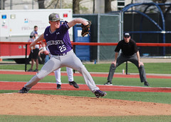 The Pitch (RPahre) Tags: pitcher pitch hankchristie baseball northwestern northwesternuniversity illinois urbana universityofillinois bigten b1g