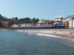 43042 & 43160 Dawlish (Marky7890) Tags: gwr 43042 class43 hst 1c77 dawlish railway train devon 43160