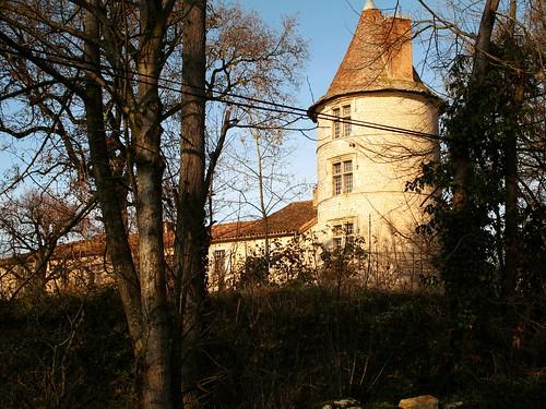Château de Bouvées, XVIe siècle, Bouvées, écart de la comune de Labrihe, Gers.