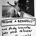 Biennalist Recruiting Poster