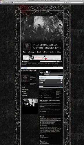 Sado Sathanas - Official Myspace Website