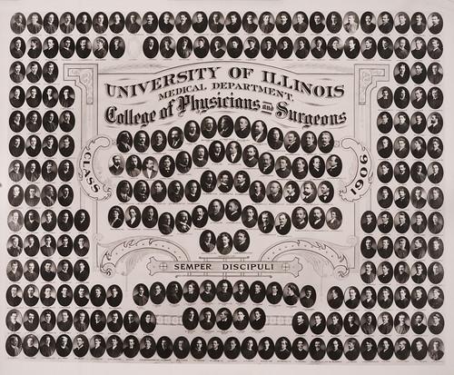 1906 graduating class, University of Illinois College of Medicine