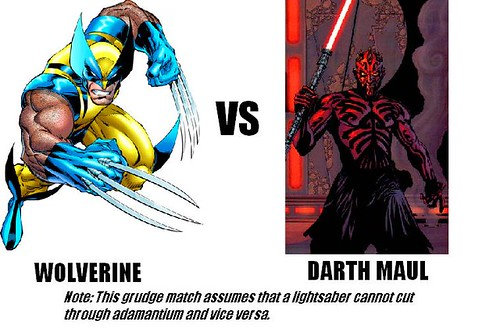 Wolverine VS Darth Maul- Bill and Tom Play-By-Play