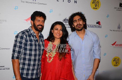 Celebrities from Bollywood at Lion premiere event