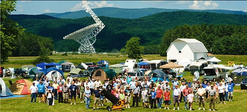 AFGU Educator Sue Ann Heatherly at her workplace, Nat'l Radio Astronomy Observatory, WV