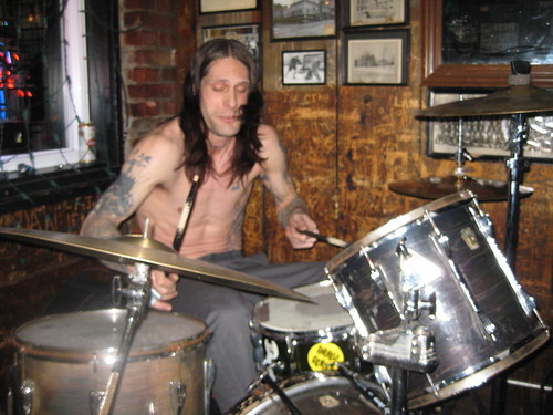 Hymen Holocaust's drummer Bull hurt his hand badly and still rocked