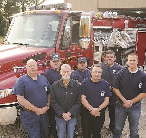LFD Lafayette County Fire Department fire