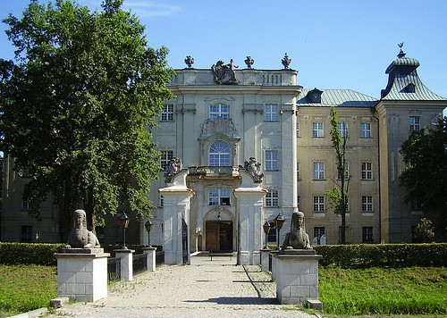 Castle in Rydzyna