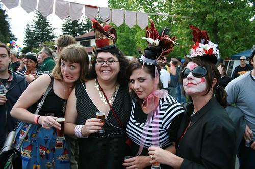 Mel with Crew at Lagunitas Beer Circus
