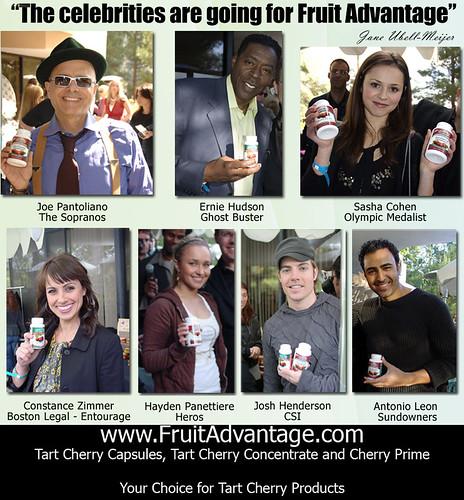 The Celebrities are Going for Fruit Advantage - Joe Pantoliano, Ernie Hudson, Sasha Cohen, Constance Zimmer, Hayden Panettiere, Josh Henderson, Antonio Leon