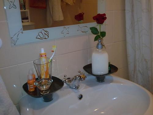 Ikea at my bathroom