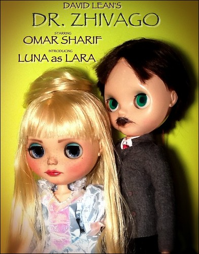 Blythe-a-Day July #25 Medicine: Luna & Omar Sharif in