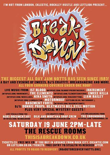 Break Down Jam - Nottingham