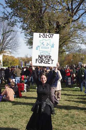 1-31-07 Never Forget! Rally to Restore Sanity - Washington, DC - 10/30/10