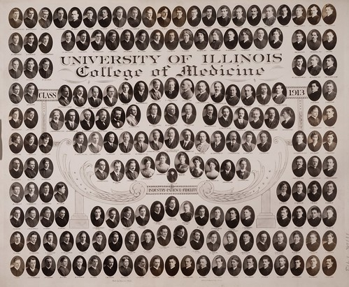 1913 graduating class, University of Illinois College of Medicine