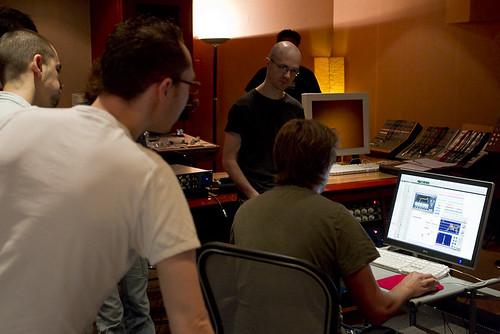 cours de mix studio Omega - 1