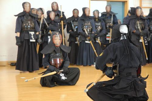Farewell practice for Matsumoto sensei 2009