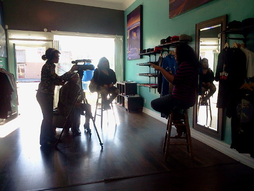 Making of... Interviewing Devi Dev @Regal Tenant
