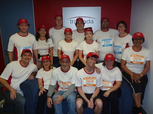 Team Tramada run for fun