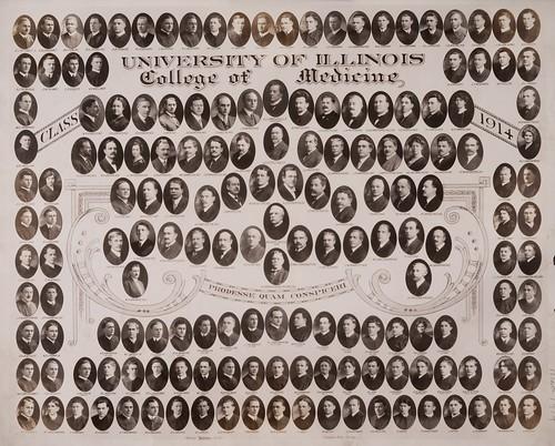 1914 graduating class, University of Illinois College of Medicine