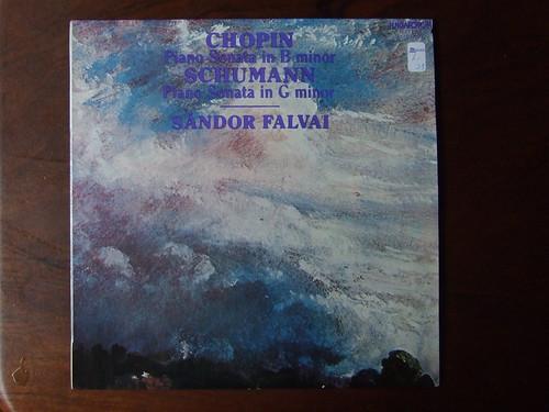 Chopin - Piano Sonata B-minor & Schumann - Piano Sonata G-minor - Sandor Falvai Piano, Hungaroton