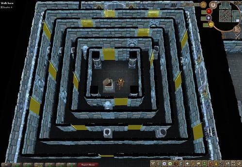 Back of maze