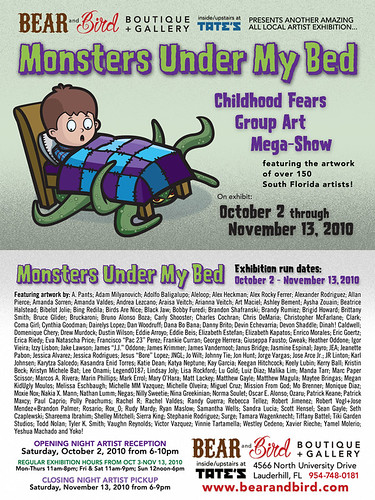 Monsters Under My Bed Flyer