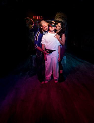 Alexander Price, Peter Hagen and Terri Mowrey