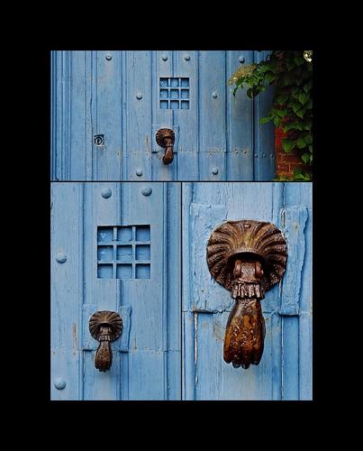 2 - 15 juillet 201O Gerberoy Promenade dans les rues Porte bleue