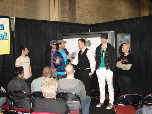 The Dazzle Dancers, Ryan Janek Wolowski, The Original GLBT Expo First Annual Video Lounge 2008