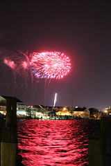 Downtown Ocean City MD Fireworks