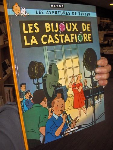 Les bijoux de la Castafiore, de Hergé