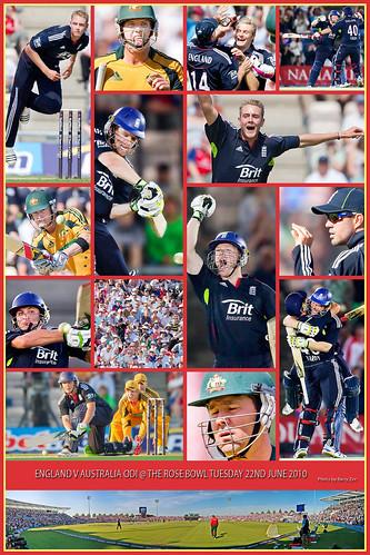 England V Australia ODI @ The Rose Bowl Tuesday 22/6/2010