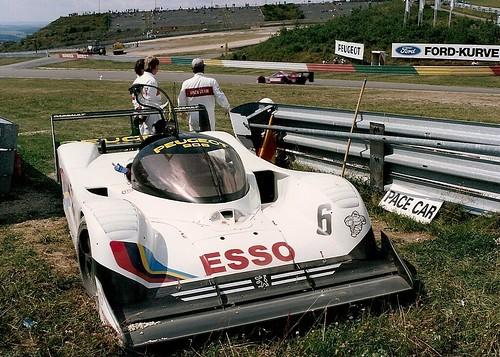 Peugeot 905 No.6 - Nurburgring 1991