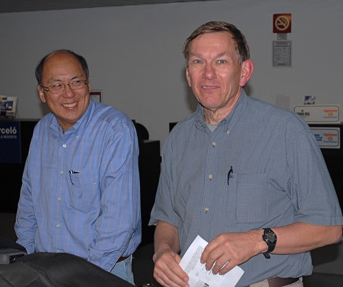 Dr. William Au and Keith Martinson